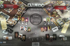 Recenzja gry detektywistycznej Cluedo wersja Gra o Tron